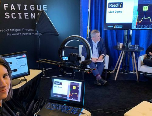 Filming the World Sleep Congress in Vancouver B.C. for Fatigue Science